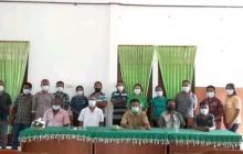 Foto Bersama Peserta Diskusi Di Kantor Desa Batuinan, Jumat,17/09/2021